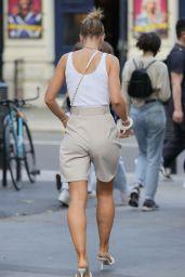 Vogue Williams Summer Street Style - London 06/23/2021