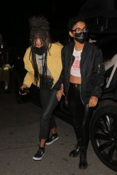 Willow Smith at The Nice Guy in LA 06/01/2021