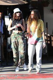Winnie Harlow - Il Pastaio in Beverly Hills 06/25/2021