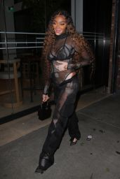 Winnie Harlow Night Out Style - Highlight Room in LA 06/24/2021