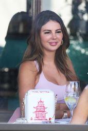 Zita Vass at Il Pastaio in Beverly Hills 06/07/2021