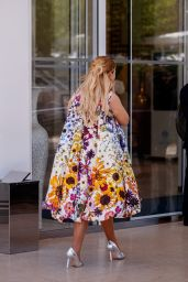 Abigail Breslin at the Martinez Hotel in Cannes 07/09/2021