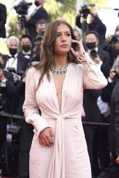 """Adèle Exarchopoulos – """"De Son Vivant (Peaceful)"""" Red Carpet at the 74th Cannes Film Festival"""