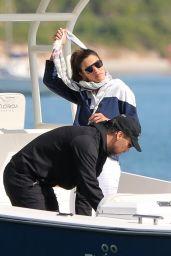 Alessandra Ambrosio Boat Ride With Boyfriend Richard Lee - Brazil 07/03/2021