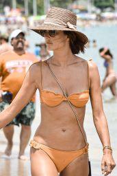 Alessandra Ambrosio in a Bikini - Vacation in Brazil 07/26/2021