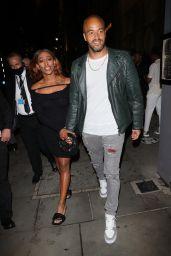 Alexandra Burke With Boyfriend Darren Randolph - London 07/28/2021