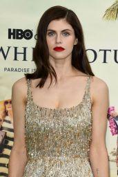 "Alexandra Daddario – ""The White Lotus"" Premiere at Pacific Palisades"