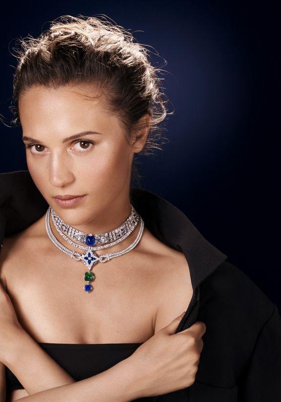 Alicia Vikander - Louis Vuitton High Jewelry 2021
