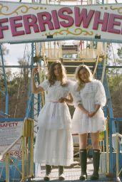Amanda AJ Michalka and Alyson Aly Michalka - Office Magazine 2021