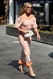 Amanda Holden - Leaving Global Studios in London 07/02/2021
