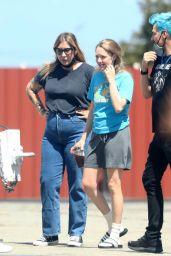 """Amanda Seyfried - """"The Dropout"""" Set in LA 07/22/2021"""