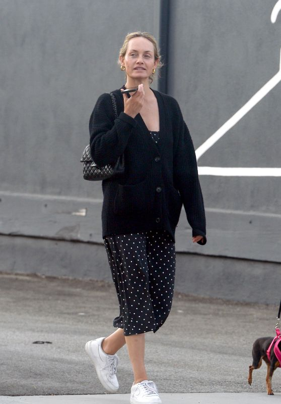 Amber Valletta - Out in Los Angeles 07/25/2021