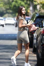 Amelia Hamlin Booty in Athletic Shorts - Los Angeles 07/07/2021