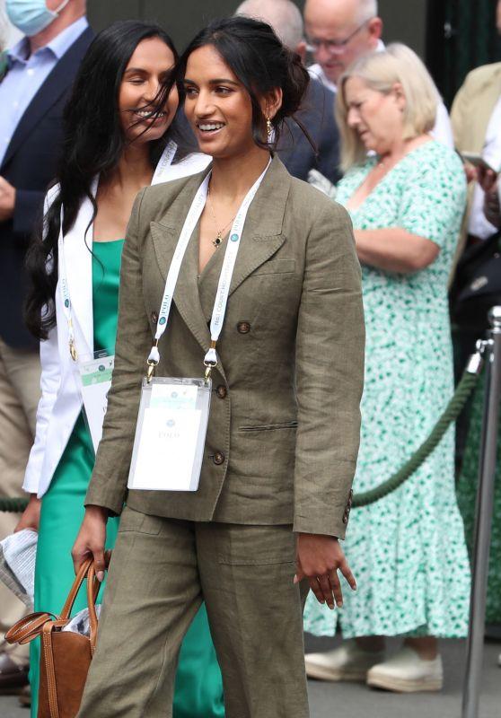 Amita Suman - Wimbledon Championships Tennis Tournament Day 11 in London 07/09/2021