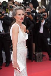 """Andie MacDowell – """"Tout S'est Bien Passe"""" Red Carpet at the 74th Cannes Film Festival"""