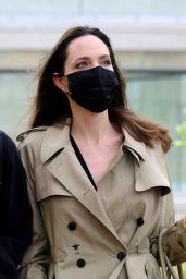 Angelina Jolie - Arriving in Venice 07/30/2021