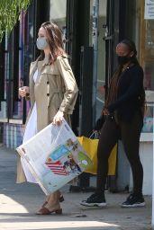 Angelina Jolie - Out in Los Feliz 07/10/2021