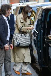 Angelina Jolie Street Style - Paris 07/23/2021