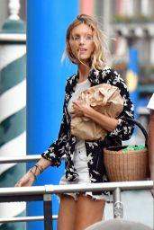 Anja Rubik - Out in Venice 07/13/2021