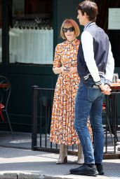 Anna Wintour - Leaving Sant Ambroeus in New York 07/28/2021