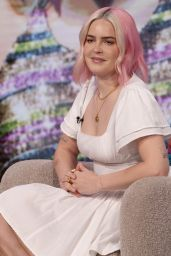 Anne Marie - Lorraine TV Show in London 07/26/2021