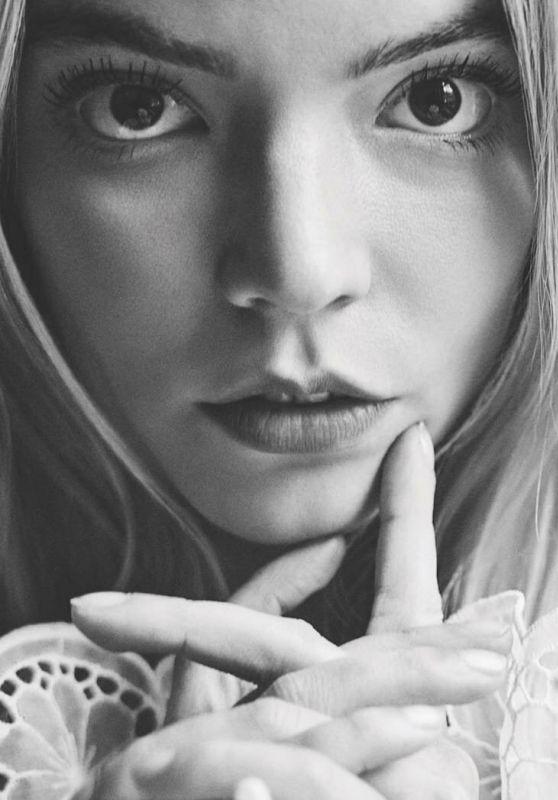Anya Taylor-Joy - Photoshoot for Netflix Queue July 2021