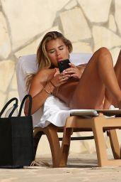 Arabella Chi in a Bikini By the Pool on Holiday in Ibiza 07/15/2021