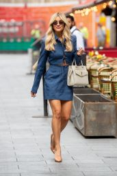Ashley Roberts - Out in London 07/28/2021