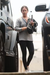 Ashley Tisdale - Workout at Rise Nation Gym in West Hollywood 07/13/2021