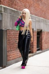 Ava Max - Out in New York City 07/26/2021