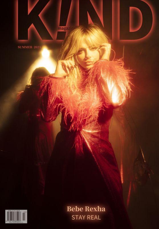 Bebe Rexha - Kind Magazine Summer 2021