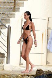 Bella Hadid in a Bikini With Her New Boyfriend in Antibes 07/12/2021