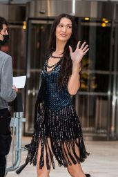 Bella Hadid – Louis Vuitton Fragance Dinner at La fondation Louis Vuitton in Paris 07/05/2021