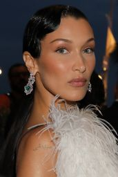 Bella Hadid Night Out Style - Leaving Hotel Martinez in Cannes 07/07/2021