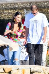 Bella Hadid With Her New Boyfriend Marc Kalman - Out in the French Riviera 07/10/2021