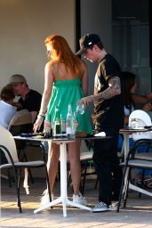 Bella Thorne and her Fiancé Benjamin Mascolo - Cannes 07/17/2021