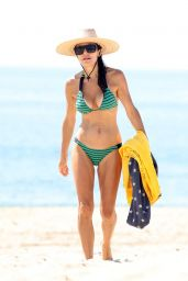 Bethenny Frankel in a Bikini at Sag Harbor Beach in The Hamptons, NY 07/24/2021