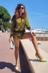 Blanca Blanco - Out in Cannes 07/19/2021