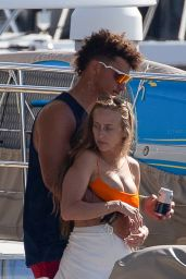 Brittany Matthews -on a Yacht in Cabo San Lucas 06/29/2021