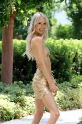 Bunny Barbie at the Pool in Los Angele 07/22/2021