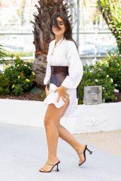 Camelia Jordana - Talents Adami Photocall at Cannes Film Festival 07/13/2021