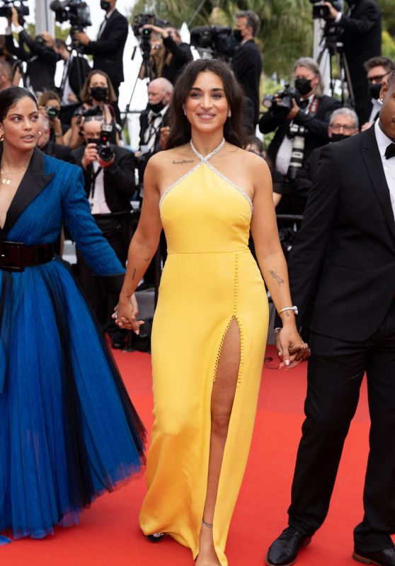 """Camelia Jordana – """"The French Dispatch"""" Premiere at the 74th Cannes Film Festival"""