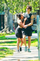 Camila Cabello and Shawn Mendes at a Beverly Hills Park 07/18/2021