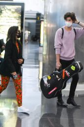 Camila Cabello and Shawn Mendes at JFK Airport in NYC 07/20/2021