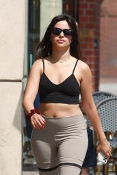 Camila Cabello in Workout Outfit - Beverly Hills Park 07/16/2021