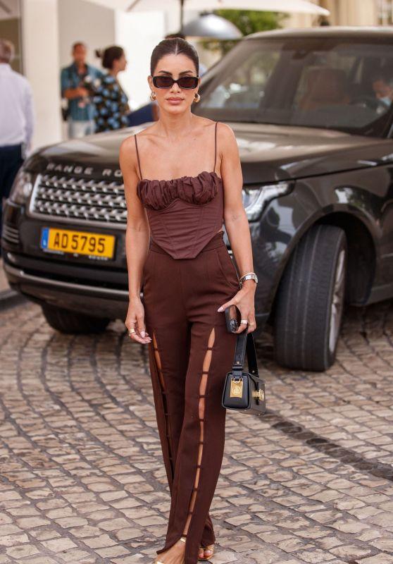 Camila Coelho at the Martinez Hotel in Cannes 07/13/2021