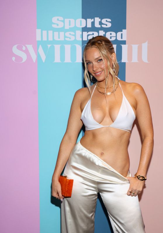 Camille Kostek - Sports Illustrated Swimsuit 2021 Private Event in Hollywood