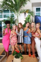 Camille Kostek – Sports Illustrated Swimsuit Edition Launch Event in Miami 07/24/2021
