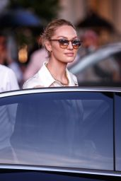 Candice Swanepoel at the Martinez Hotel in Cannes 07/07/2021