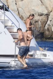 Candice Swanepoel on a Boat in the French Riviera 07/03/2021